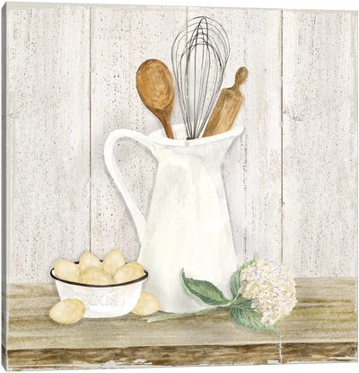 Vintage Kitchen II Canvas Art Print