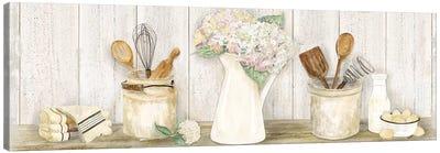 Vintage Kitchen Panel Canvas Art Print