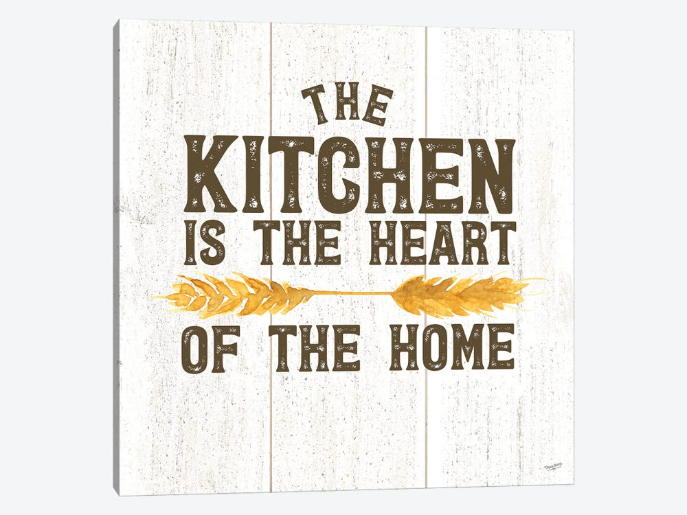 Farm Life II Kitchen Home by Tara Reed 1-piece Canvas Artwork