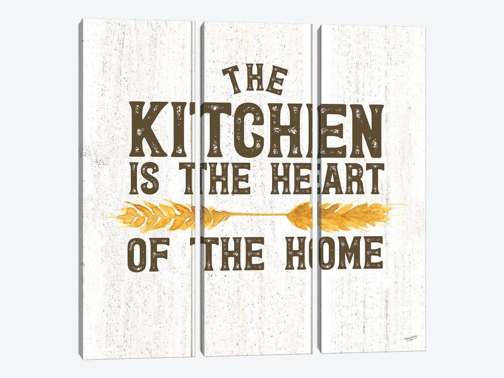 Farm Life II Kitchen Home by Tara Reed 3-piece Canvas Artwork