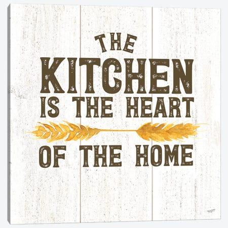 Farm Life II Kitchen Home Canvas Print #TRE221} by Tara Reed Canvas Art