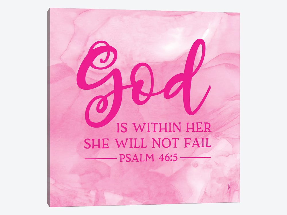 Girl Inspired- God Within by Tara Reed 1-piece Canvas Print