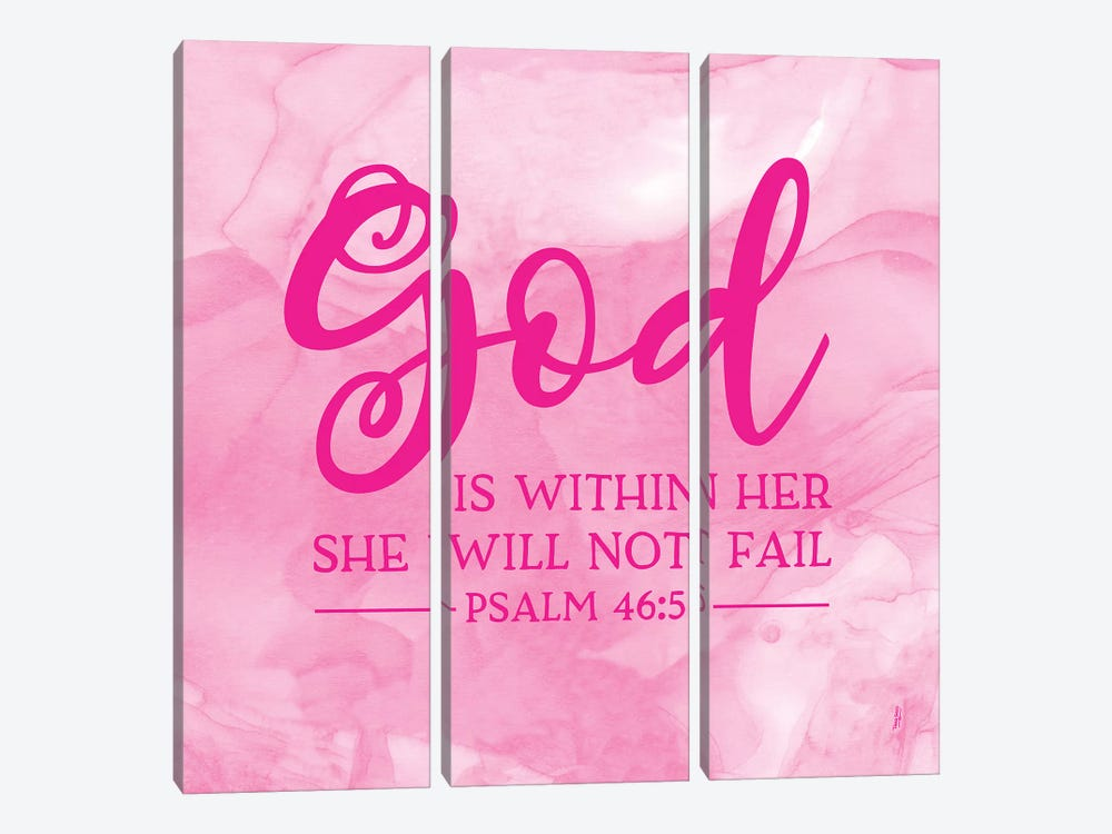Girl Inspired- God Within by Tara Reed 3-piece Art Print