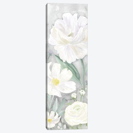 Peaceful Repose Gray Panel II Canvas Print #TRE245} by Tara Reed Art Print