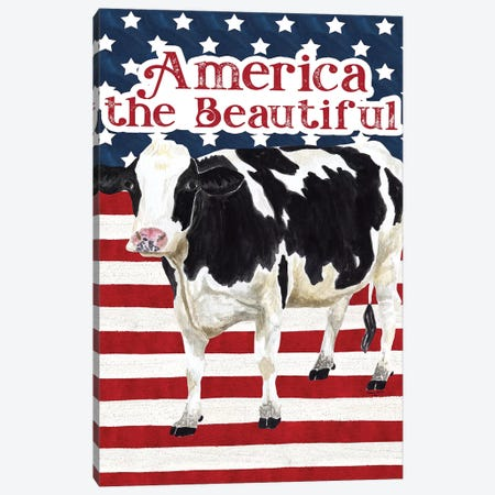 Flag I Canvas Print #TRE251} by Tara Reed Canvas Art Print