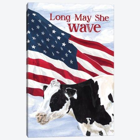 Flag II Canvas Print #TRE252} by Tara Reed Canvas Art Print