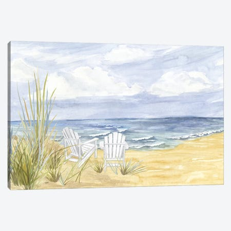 By the Sea Landscape Canvas Print #TRE260} by Tara Reed Canvas Artwork