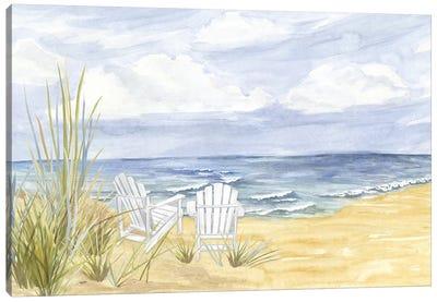 By the Sea Landscape Canvas Art Print