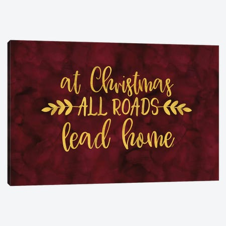 All that Glitters landscape-All Roads Canvas Print #TRE277} by Tara Reed Canvas Art