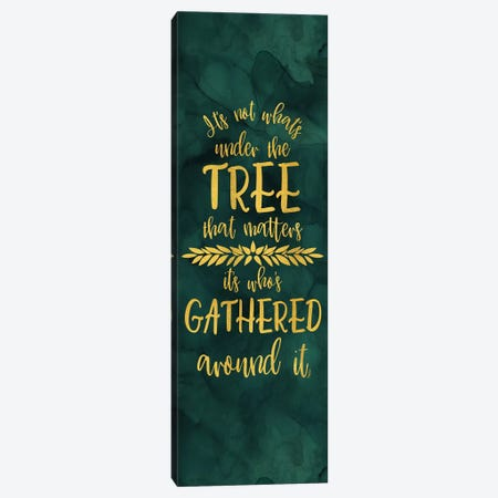 All that Glitters panel IV-Under the Tree Canvas Print #TRE281} by Tara Reed Canvas Artwork