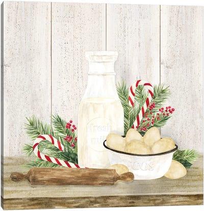 Christmas Kitchen II Canvas Art Print