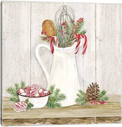 Christmas Kitchen III Canvas Art Print