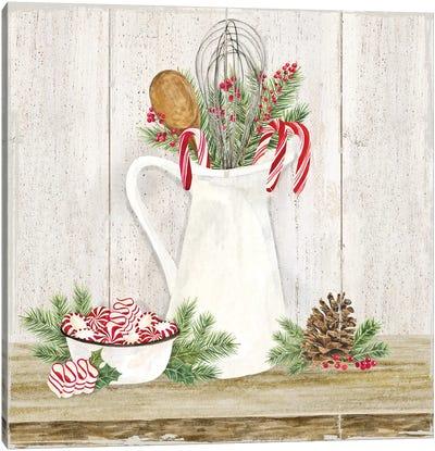 Christmas Kitchen III Canvas Art Print