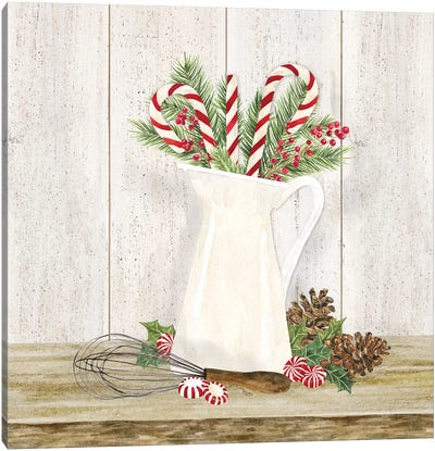 Christmas Kitchen IV Canvas Art Print