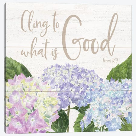 Abundant Blooms II Canvas Print #TRE2} by Tara Reed Canvas Wall Art
