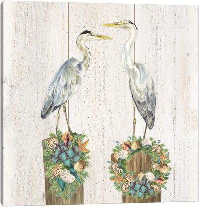 Christmas on the Coast Aqua I Canvas Art Print