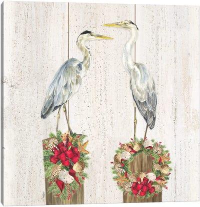 Christmas on the Coast I Canvas Art Print