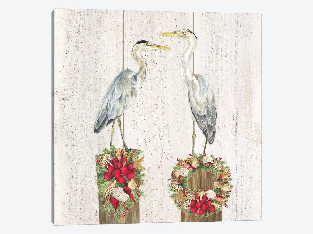 Christmas on the Coast I by Tara Reed 1-piece Canvas Artwork