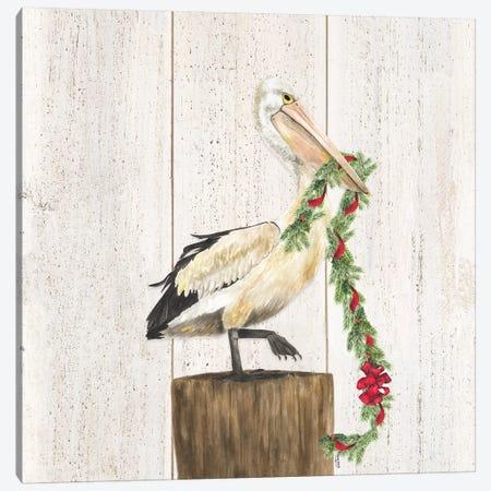Christmas on the Coast II Canvas Print #TRE305} by Tara Reed Canvas Wall Art