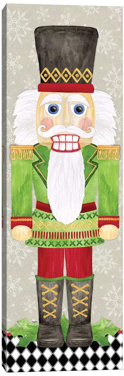Nutcracker Christmas I Canvas Art Print