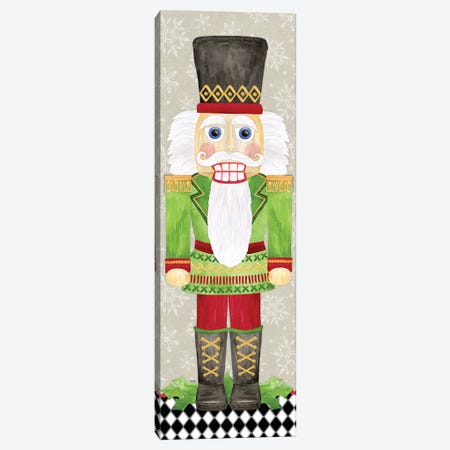 Nutcracker Christmas I Canvas Print #TRE331} by Tara Reed Canvas Wall Art