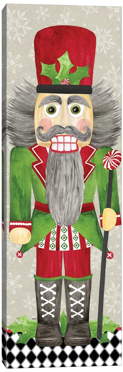 Nutcracker Christmas II Canvas Art Print