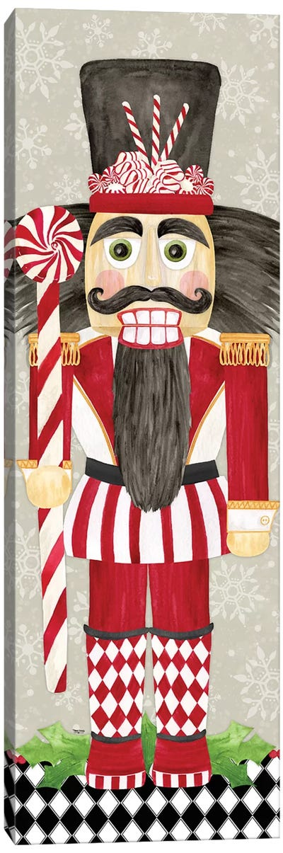 Nutcracker Christmas III Canvas Art Print