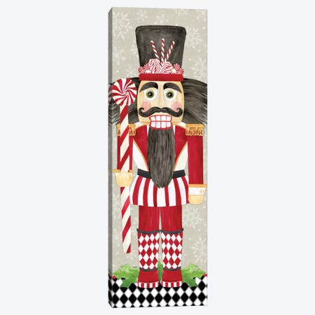 Nutcracker Christmas III Canvas Print #TRE333} by Tara Reed Canvas Wall Art