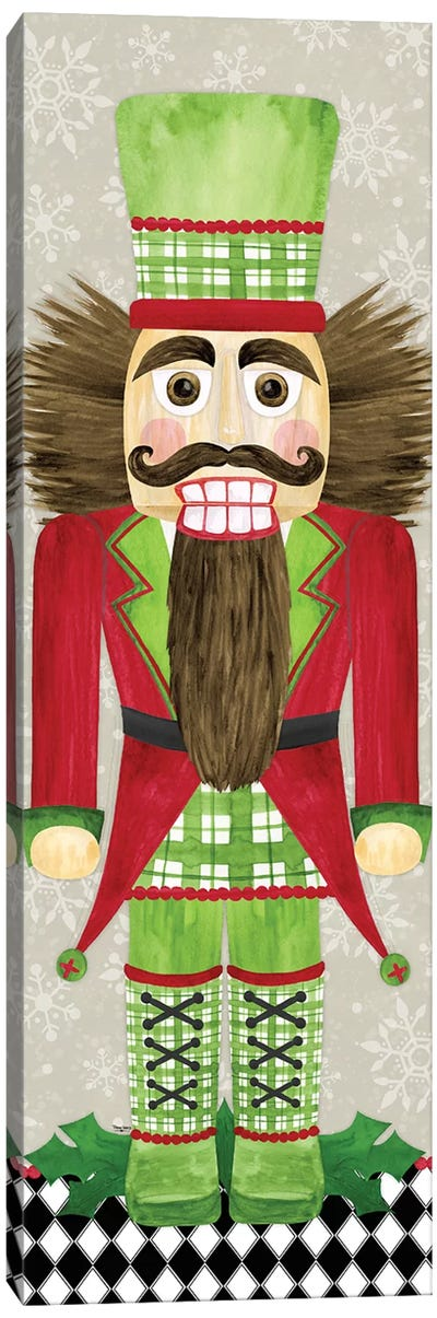 Nutcracker Christmas IV Canvas Art Print