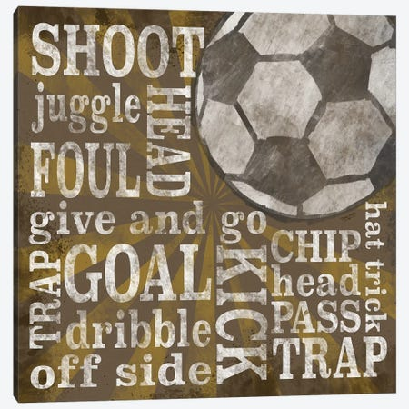 All Star Sports I Canvas Print #TRE369} by Tara Reed Art Print