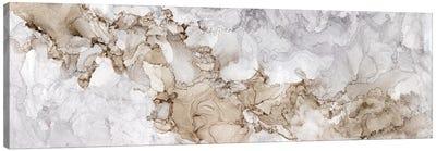 Neutral Beauty Gray Panel Canvas Art Print
