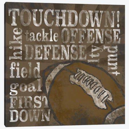 All Star Sports II Canvas Print #TRE370} by Tara Reed Canvas Artwork