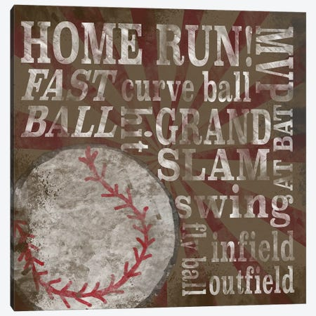 All Star Sports III Canvas Print #TRE371} by Tara Reed Canvas Art