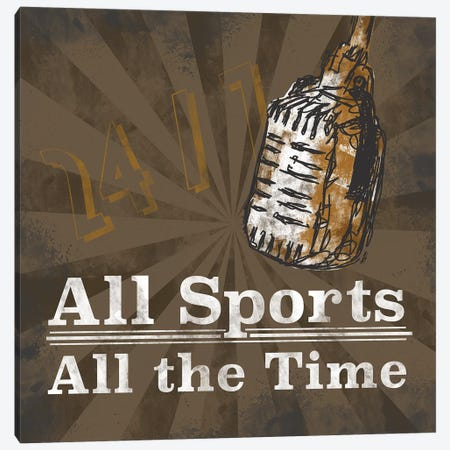 Sports Talk II Canvas Print #TRE374} by Tara Reed Canvas Print