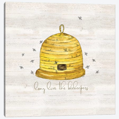 Bee's Life VII-Beekeeper Canvas Print #TRE377} by Tara Reed Art Print