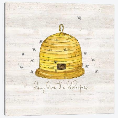 Bee's Life VII-Beekeeper Canvas Print #TRE377} by Tara Reed Art Print