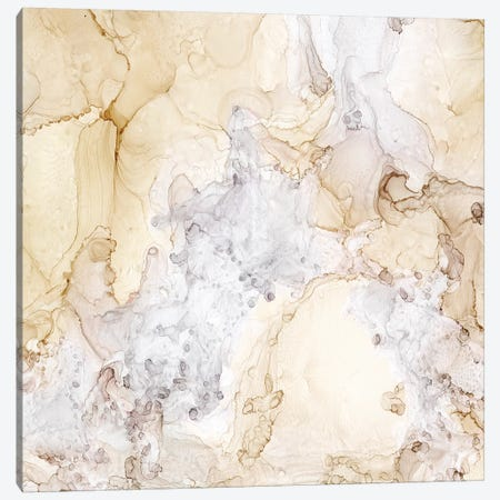 Neutral Beauty Taupe Canvas Print #TRE37} by Tara Reed Canvas Wall Art