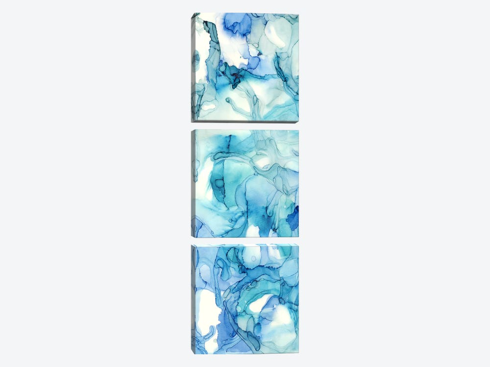 Ocean Influence All Over Panel I by Tara Reed 3-piece Canvas Print