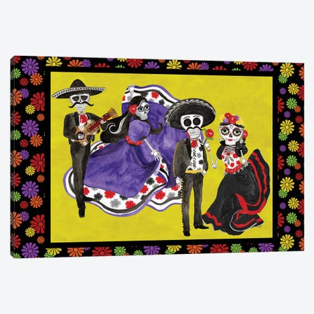 Day of the Dead landscape Canvas Print #TRE392} by Tara Reed Canvas Art