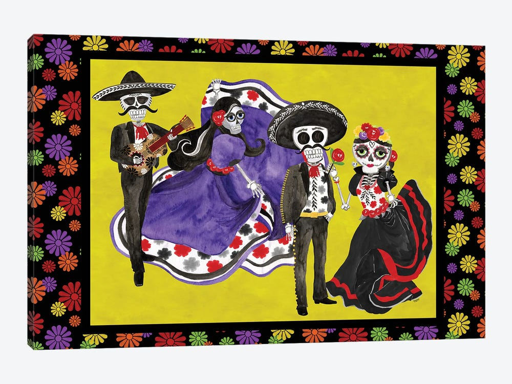Day of the Dead landscape by Tara Reed 1-piece Art Print