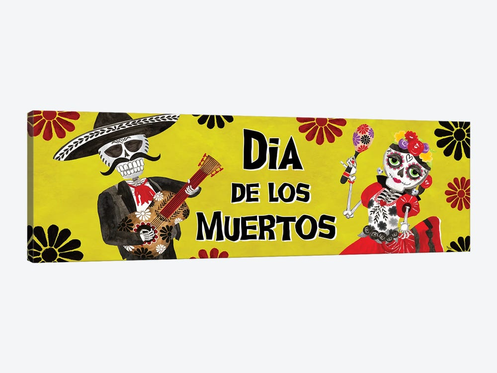 Day of the Dead panel I-Dia de los Muertos by Tara Reed 1-piece Canvas Art