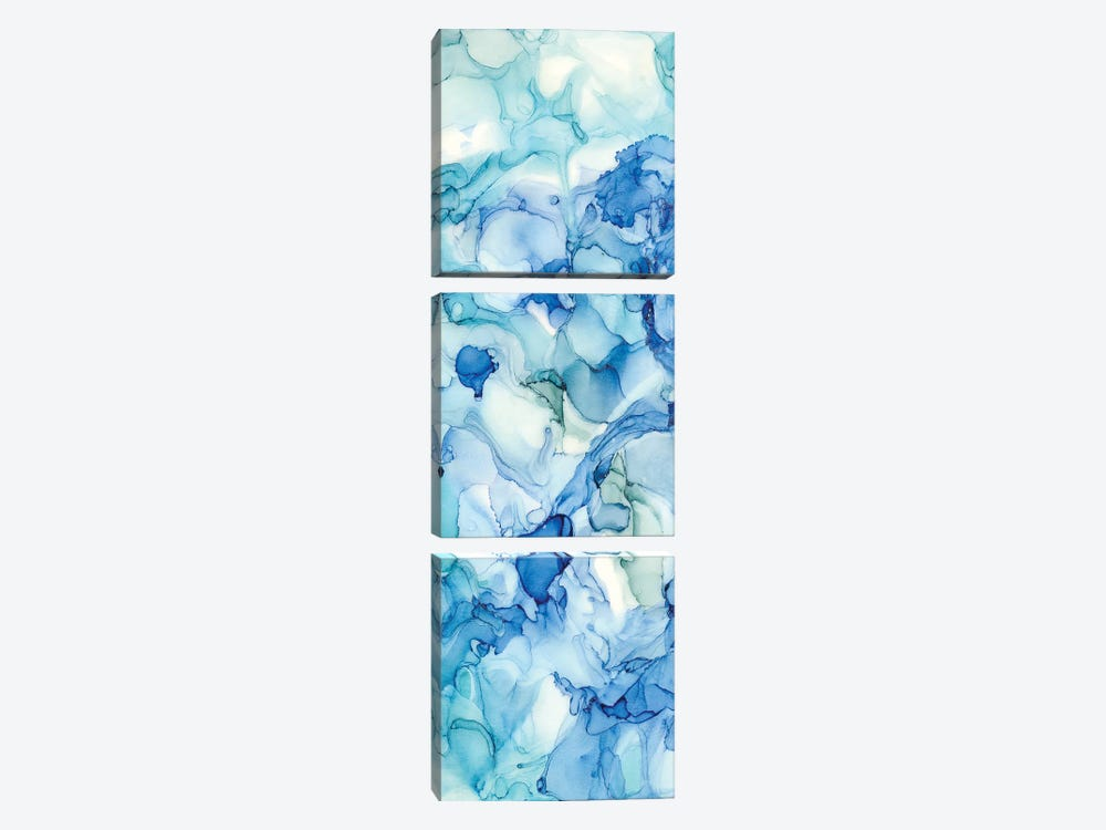 Ocean Influence All Over Panel II by Tara Reed 3-piece Canvas Wall Art