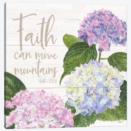 Abundant Blooms III Canvas Print #TRE3} by Tara Reed Canvas Art
