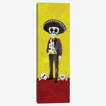 Day of the Dead vertical I Canvas Print #TRE404} by Tara Reed Art Print