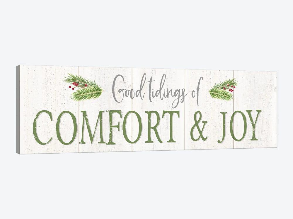 Peaceful Christmas Horizontal Comfort & Joy by Tara Reed 1-piece Canvas Print