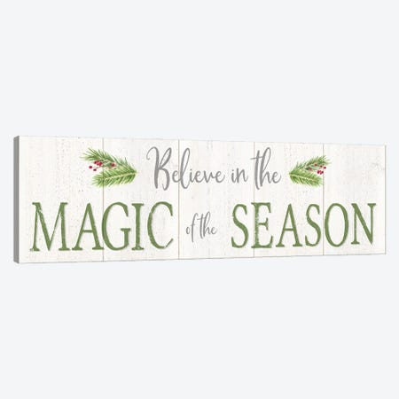 Peaceful Christmas Horizontal Magic of the Season 3-Piece Canvas #TRE445} by Tara Reed Canvas Print