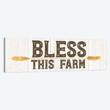Farm Life Panel III-Bless this Farm Canvas Print #TRE462} by Tara Reed Canvas Wall Art