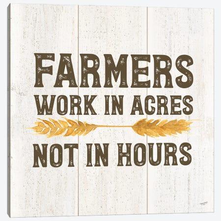 Farm Life VIII-Acres Canvas Print #TRE466} by Tara Reed Canvas Print