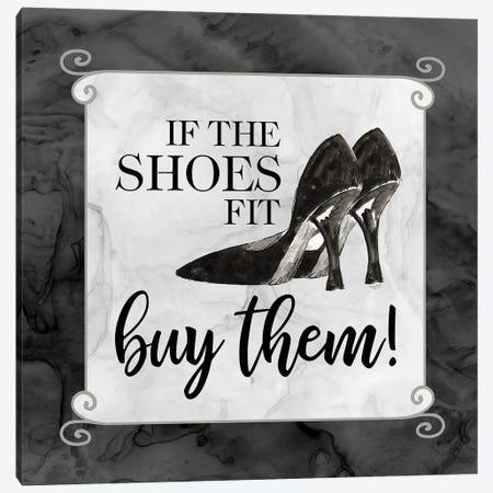 Fashion Humor V-Shoes Fit Canvas Print #TRE470} by Tara Reed Art Print