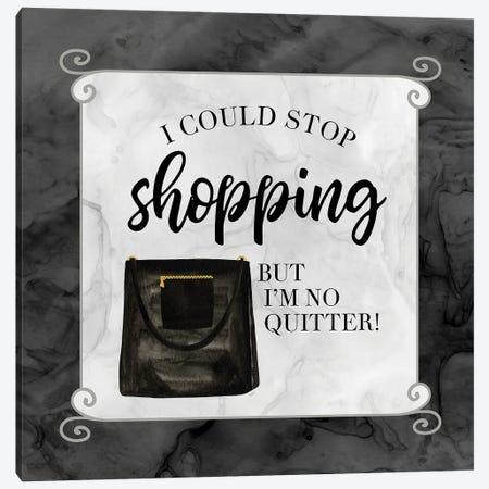 Fashion Humor XI-Stop Canvas Print #TRE472} by Tara Reed Canvas Print